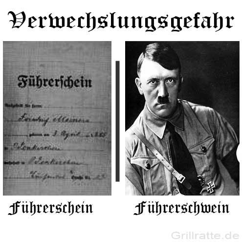 grillratte-fuehrerschein-fuehrerschwein-verwechslungsgefahr-adolf-hitler