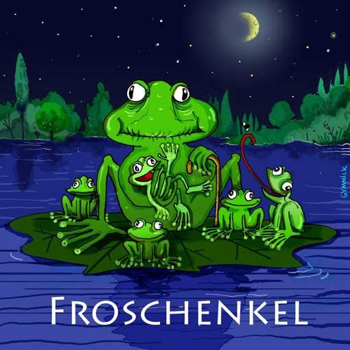 lustiger-frosch