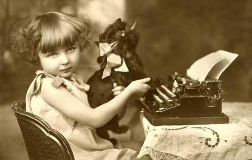 altes schwarzweissfoto