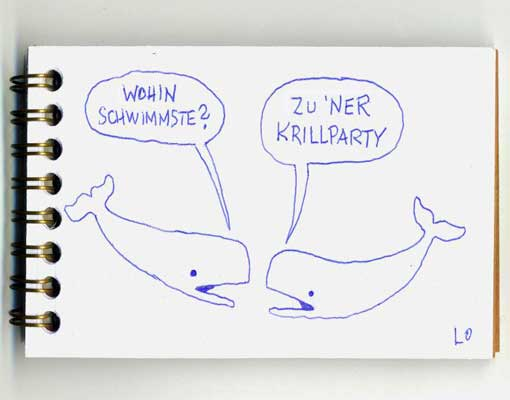 krillparty Aus dem Skizzenblock (12)