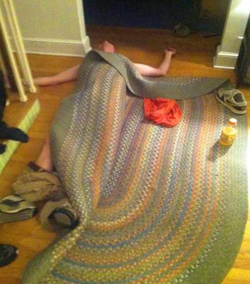 unter den teppich gekehrt