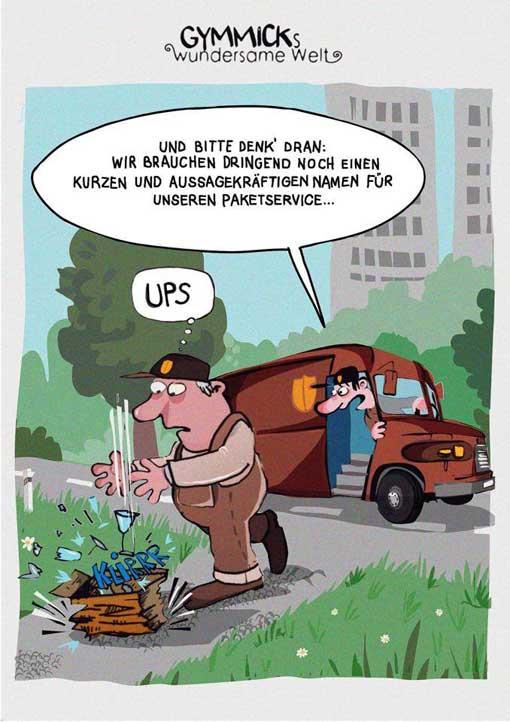 ups-paketdienst