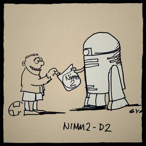 nimm2-d2-gymmick