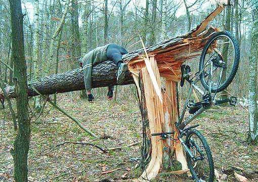 fahrrad lustig