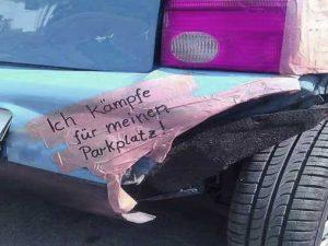 parkplatzaerger